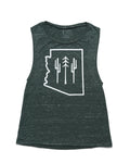 Arizona Wilderness Muscle Tank | Forest