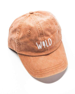 Wild Pine Dad Hat | Sunset Orange
