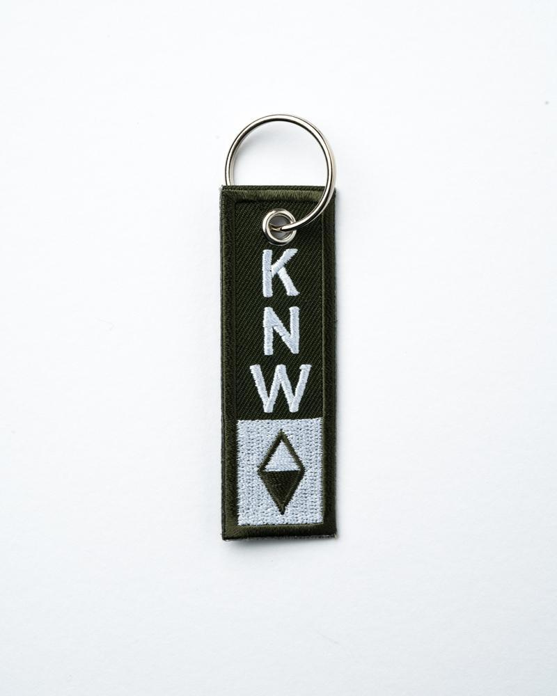 True North Keychain | Olive