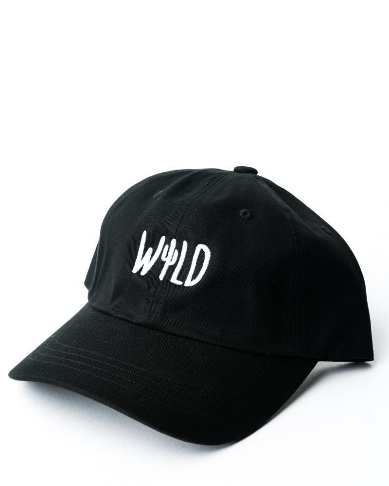 Wild Cactus Dad Hat | Black