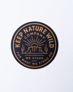 We Stand | Sticker