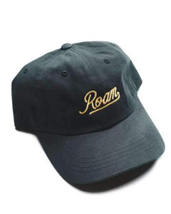 Roam Dad Hat | Black and Gold