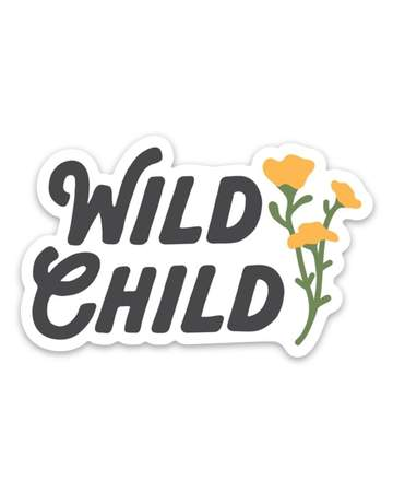 Wild Child | Sticker