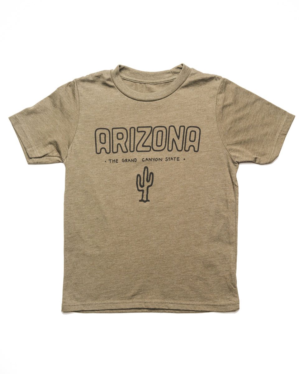 Grand Canyon State Youth Tee | Army