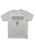 Grand Canyon State Youth Tee | Heather Gray