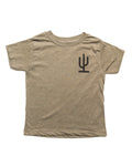 Lil Cactus Toddler Tee | Army