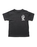 Lil Cactus Toddler Tee | Black