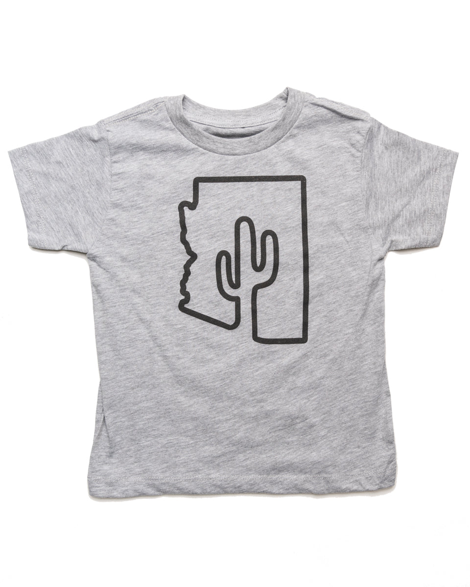 ZONA Toddler Tee | Heather Gray