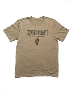 Grand Canyon State Unisex Tee | Army