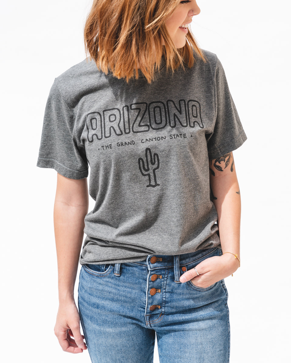 Grand Canyon State Unisex Tee | Heather Gray