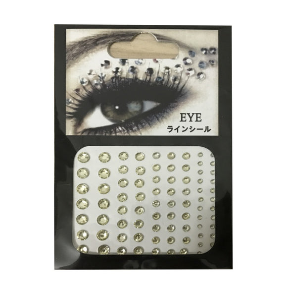 Makeup Crystal Eyes Sticker Tattoo Eyeliner Diamond Glitter Makeup Sticker Bridal Party Makeup Decoration Cosmetic