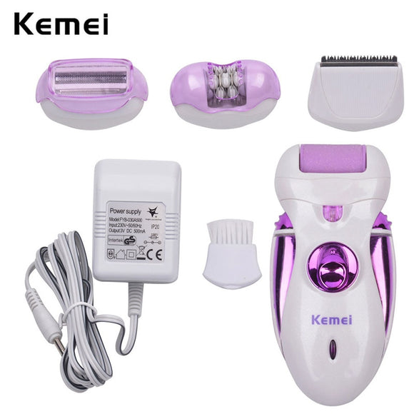 Kemei  4 in 1 Reachargeable, Personal Health Care, Foot Care Tool.