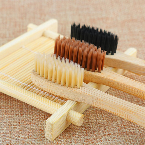 1Pcs Durable Fashion Personal Health Environmental Toothbrush Bamboo Oral Care Teeth Eco Soft Medium Brushes Health Care Tools