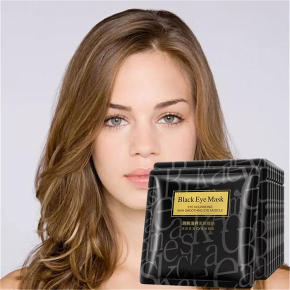 2017 New Black Hydrogel Eye Patch 1 pcs Gel Mask Skincare Dilute The Black Eye Fine Lines Eye Mask Replenishment