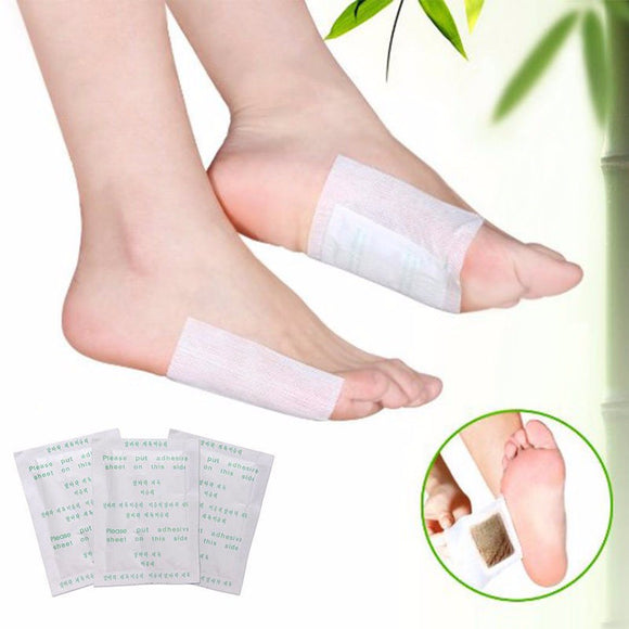 10 Pcs Cleansing Detox Foot Pad Herbal Patch Detoxify Toxins Adhesive Keeping Fit Health Care Improve Sleep Beauty Slimming