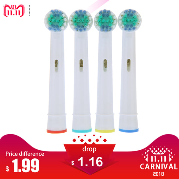 Electric Toothbrush Heads  for Braun Oral B Vitality EB17-4