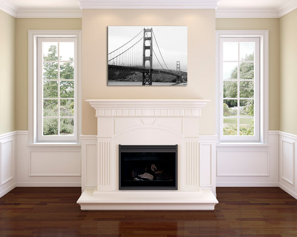 The Landmark of Golden Gate Wall Art