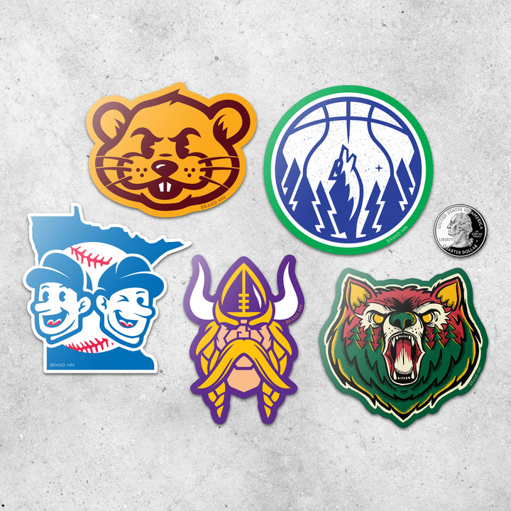 MN Sports Sticker Pack