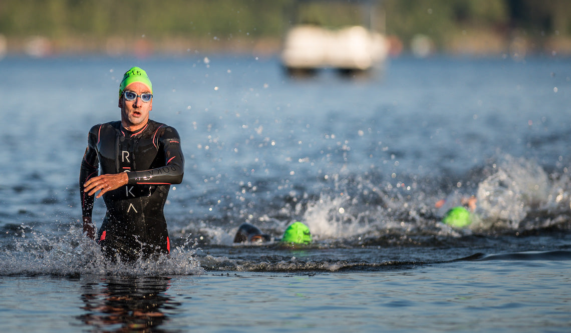 Brandon Marsh - First Out of the Water IM Mt Tremblant