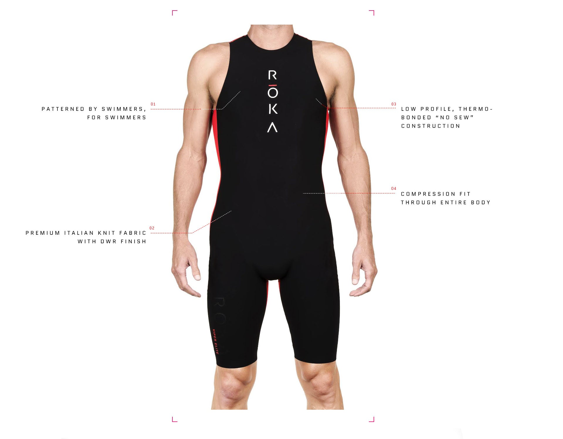 Men's Viper Elite Swimskin