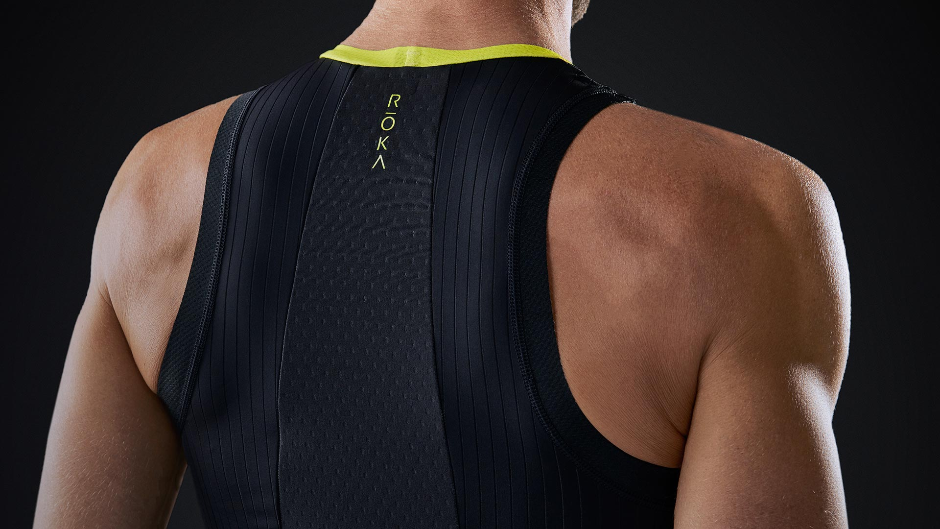 Elite Aero Tri Top (Back)