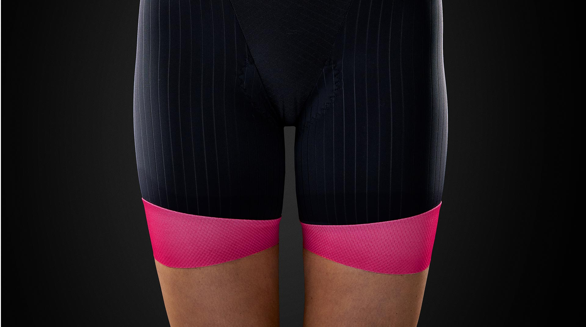 Elite Aero Tri Short Leg Detail