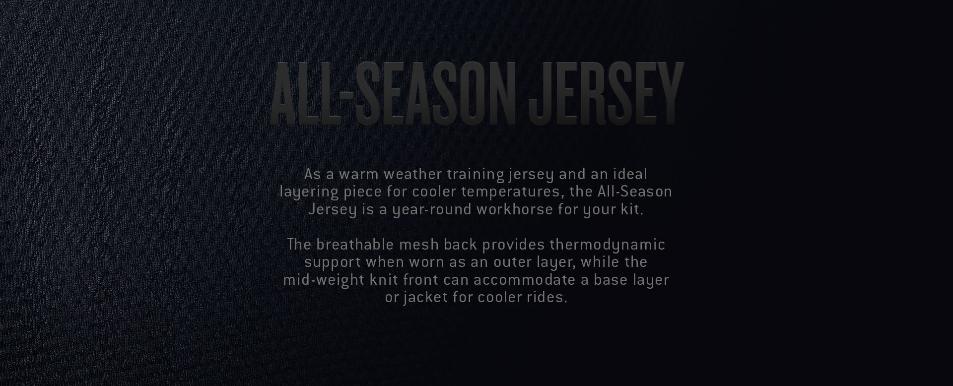 Men's Cycling All-Season Jersey