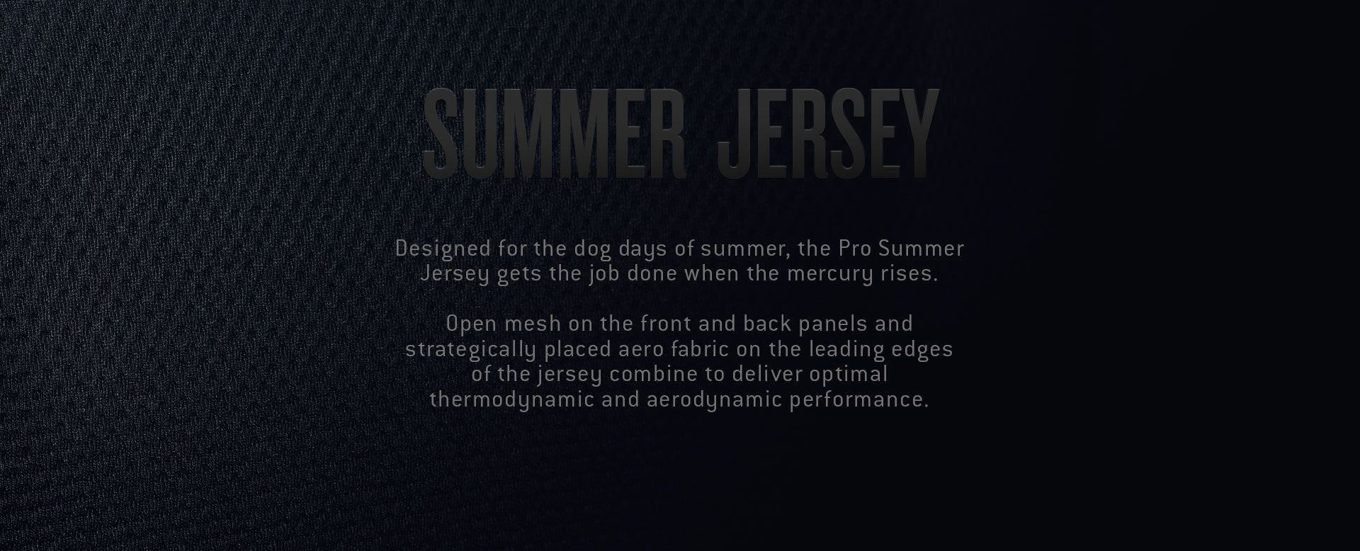 Men's Cycling Pro Summer Jersey