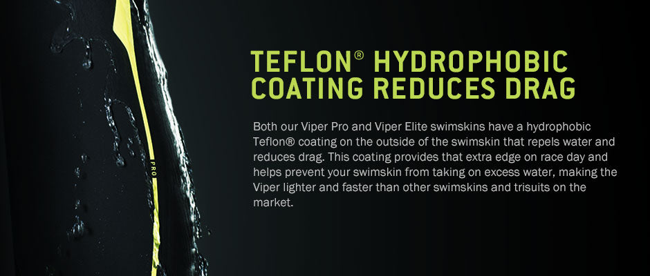The ROKA Viper Elite has a hydrophobic Teflon coating