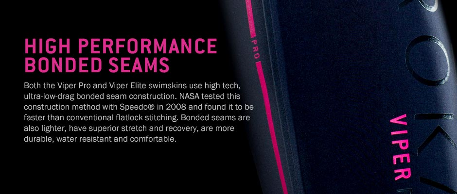 The ROKA Viper Elite has high performance bonded seams