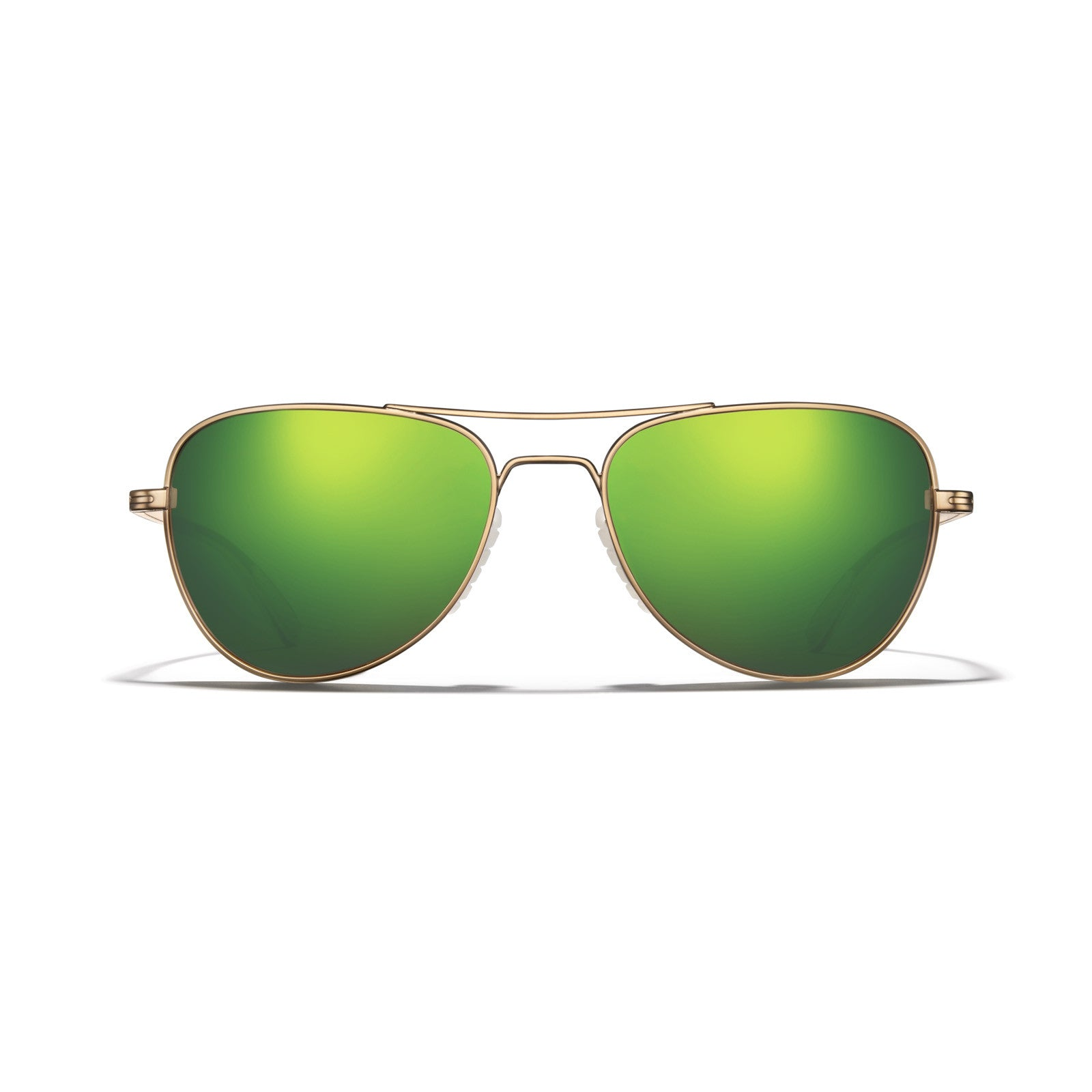 Gold Frame - Bronze Lens with Green Mirror
