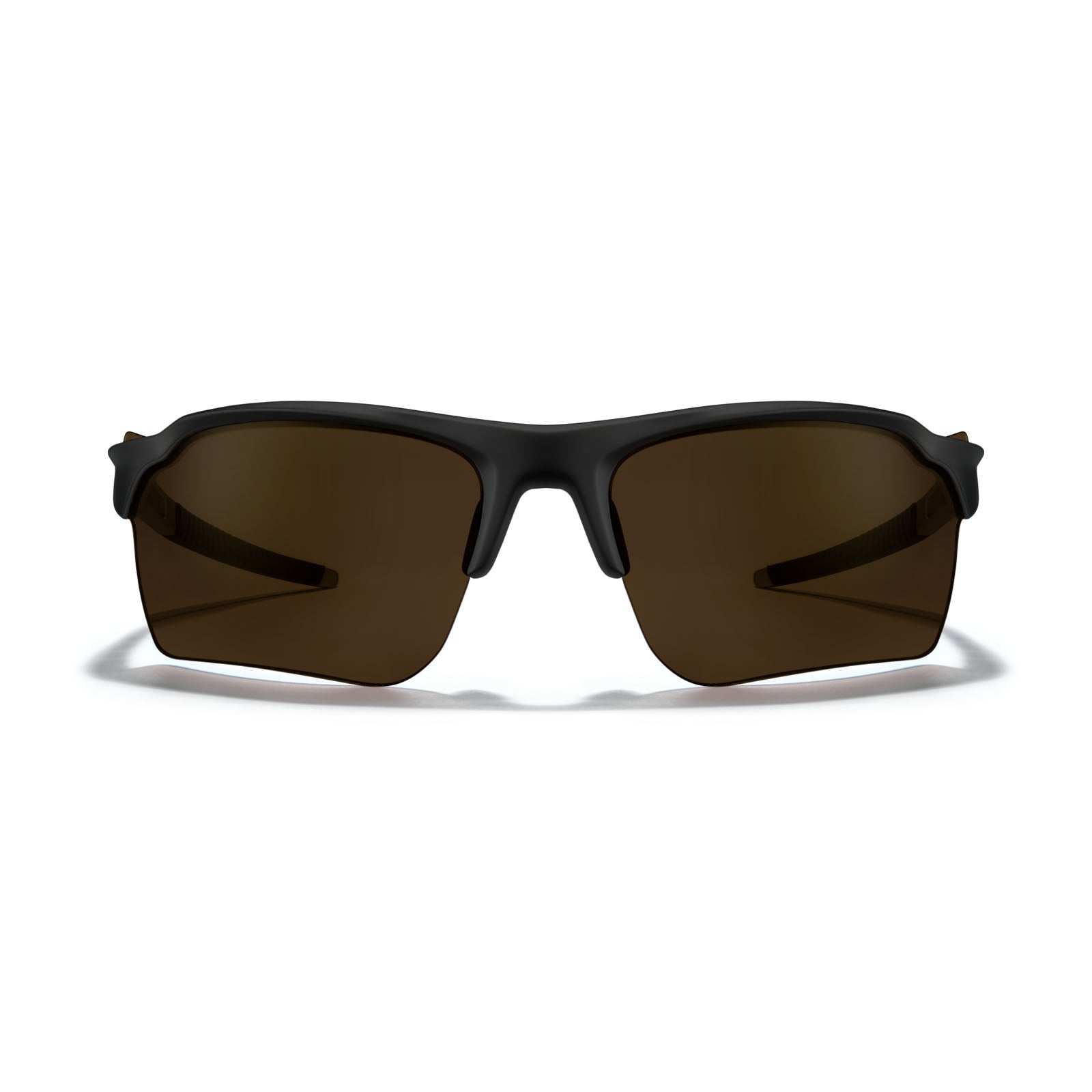 Matte Black Frame - Bronze (Polarized) Lens