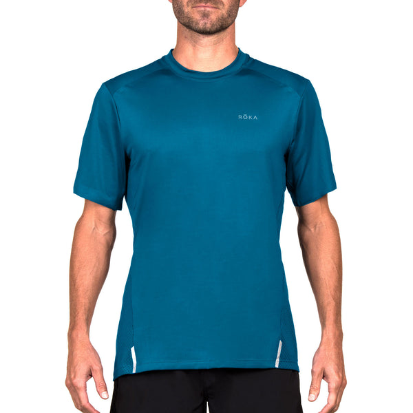 Men's Elite All-Season Run SS Shirt (Neptune)