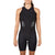 Women's Gen II Elite Aero Sleeveless Tri Suit - Front View on Athlete - Fastest Sleeveless Women's Tri Suit