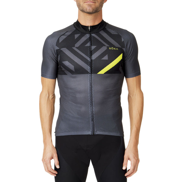 Men's Cycling Pro Summer Jersey (Acid Lime)