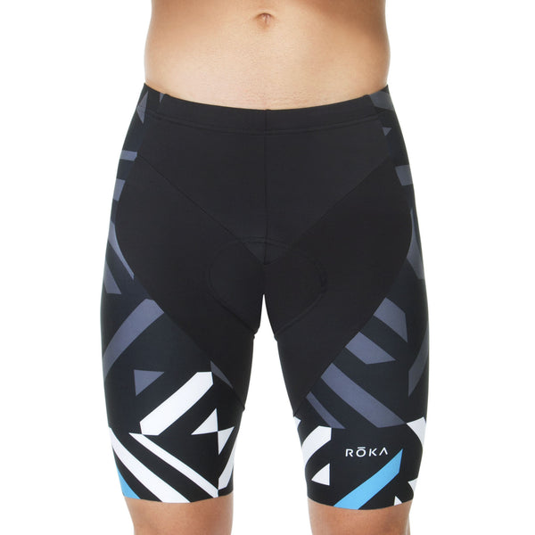 Men's Cycling Pro Short (Cyan)