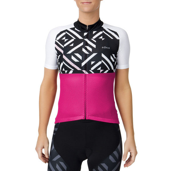 Women's Cycling Pro Summer Jersey (Magenta)