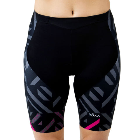 Women's Cycling Pro Short (Magenta)