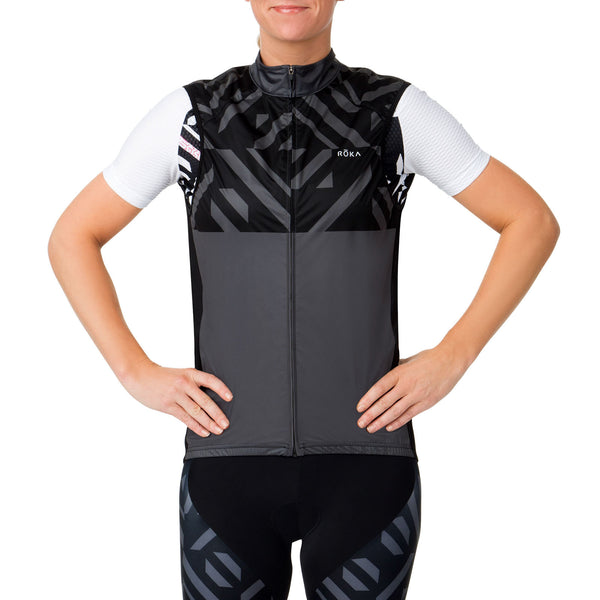 Women's Cycling Pro Wind Block Vent Vest