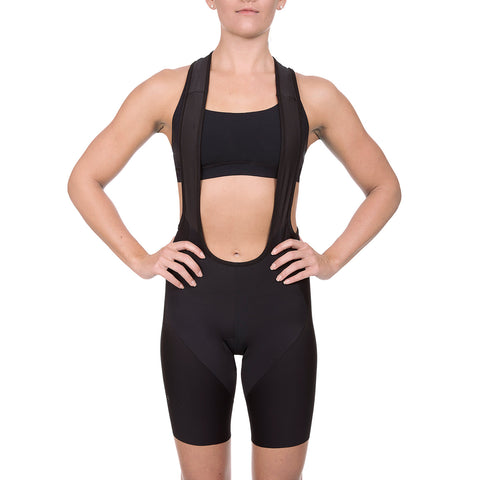 Women's Cycling Pro Bib Short (Black)
