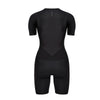 Women's Gen II Elite Aero Short Sleeve Tri Suit - Back View - Fastest Women's Tri Suit