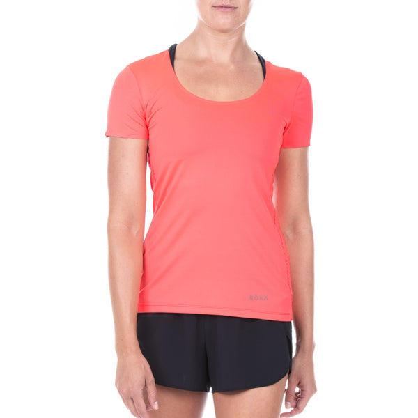 Women's Elite All-Season Run SS Shirt (Torch)