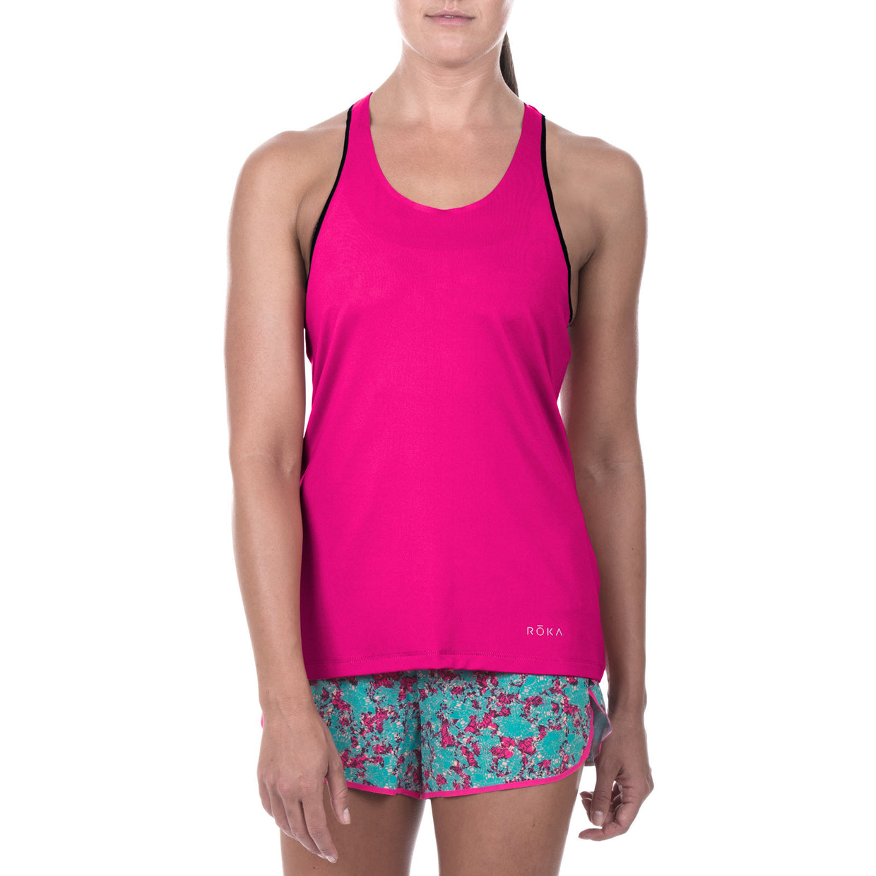 Women's Elite Race Run Singlet (Magenta)