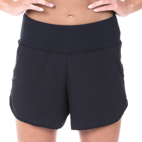 "Women's Elite 5"" Run Short (Black)"