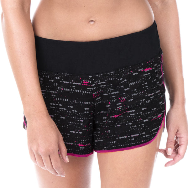 "Women's Elite Run 4"" Low Rise Short (Techno)"