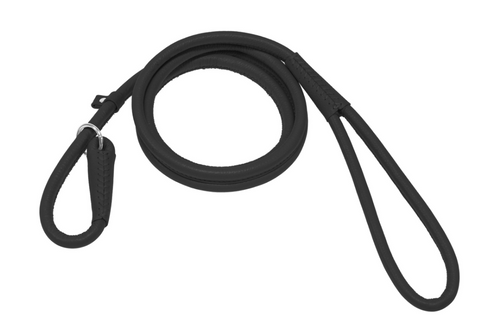 Soft Leather Round Slip Lead