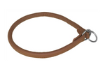 Leather Round Slip Collar