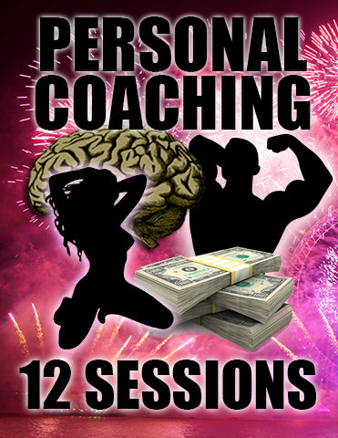Platinum (TWELVE Session) Coaching Package with Jan 2018 TEAM PAIN Bonus!