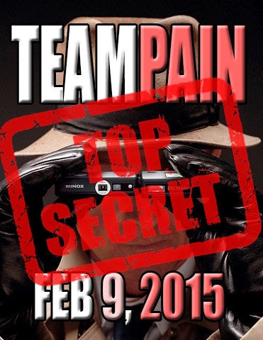 "TEAMPAIN ""Secret Class"" February, 9"