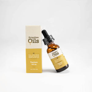 Primitive Oils™ | Full Spectrum 500mg Lemon Tincture